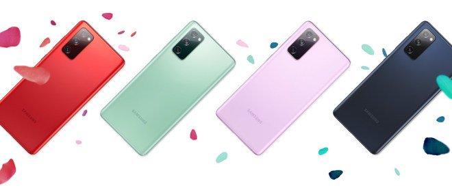 Samsung Galaxy S20 FE 5G Colors