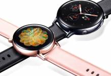 Samsung Galaxy Watch Active 2 Software Update