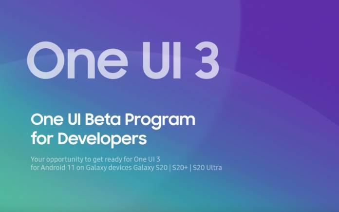 Samsung One UI 3 Beta Program