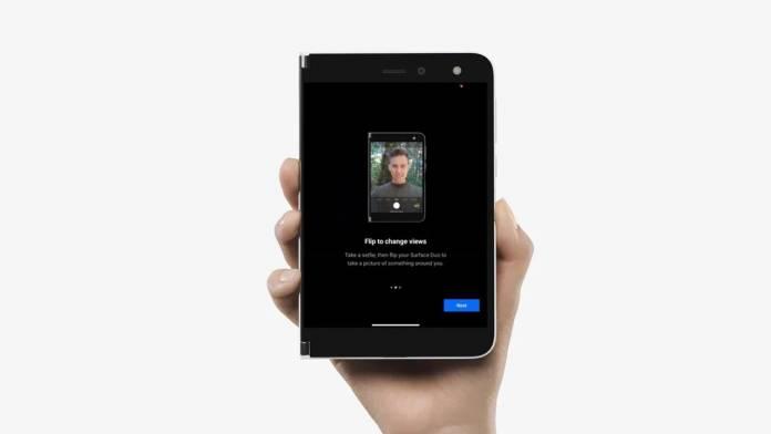 Surface Duo camera software update September 2020