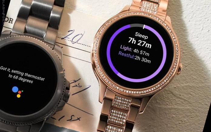 Fossil Gen 5E Wear OS smartwatches