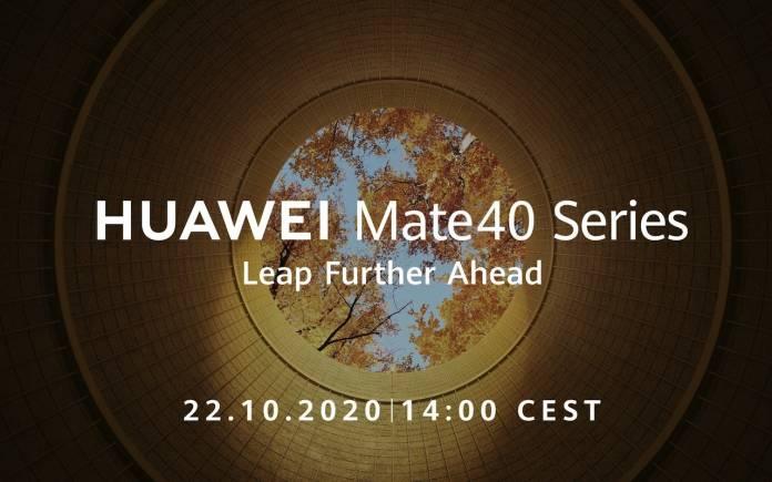 Huawei Mate 40 Series Announcement