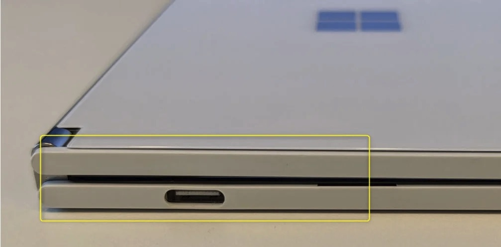 Microsoft Surface Duo Bulging