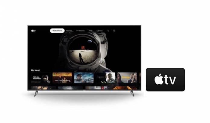Sony X900H Apple TV Software Update