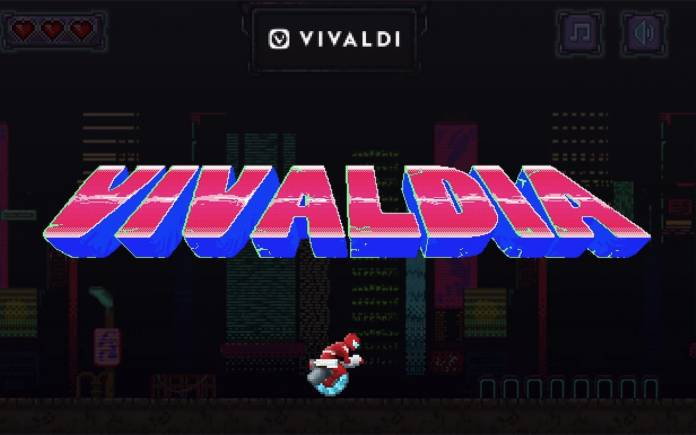 Vivaldia Vivaldi Browser Built-in Arcade Game