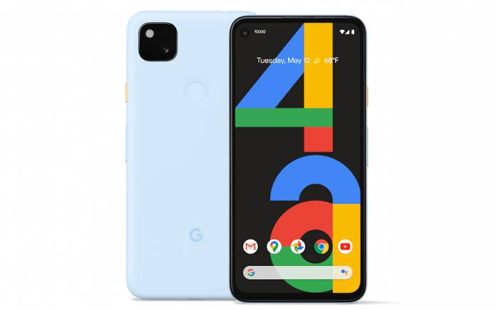 Barely Blue Google Pixel 4a