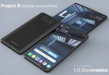 LG Phone Rollable Smartphone