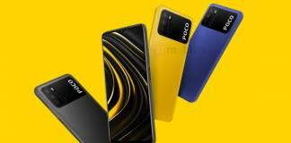 POCO M3 Phone Image Render