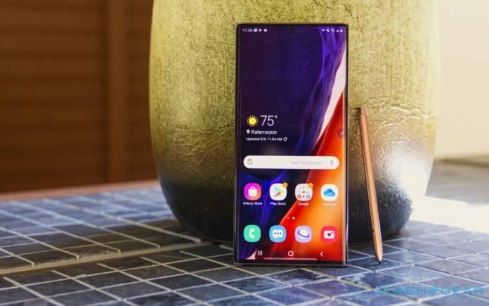 Samsung Galaxy S21 Ultra Concept Image
