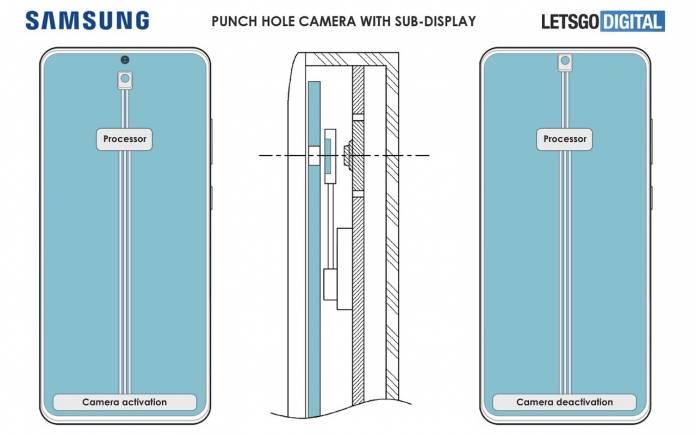 Samsung Galaxy S22 Under Display Camera
