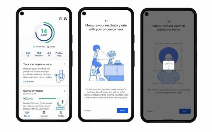 Google Fit Wellness Health