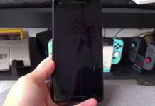 HTC Pixel 2 XL prototype unit