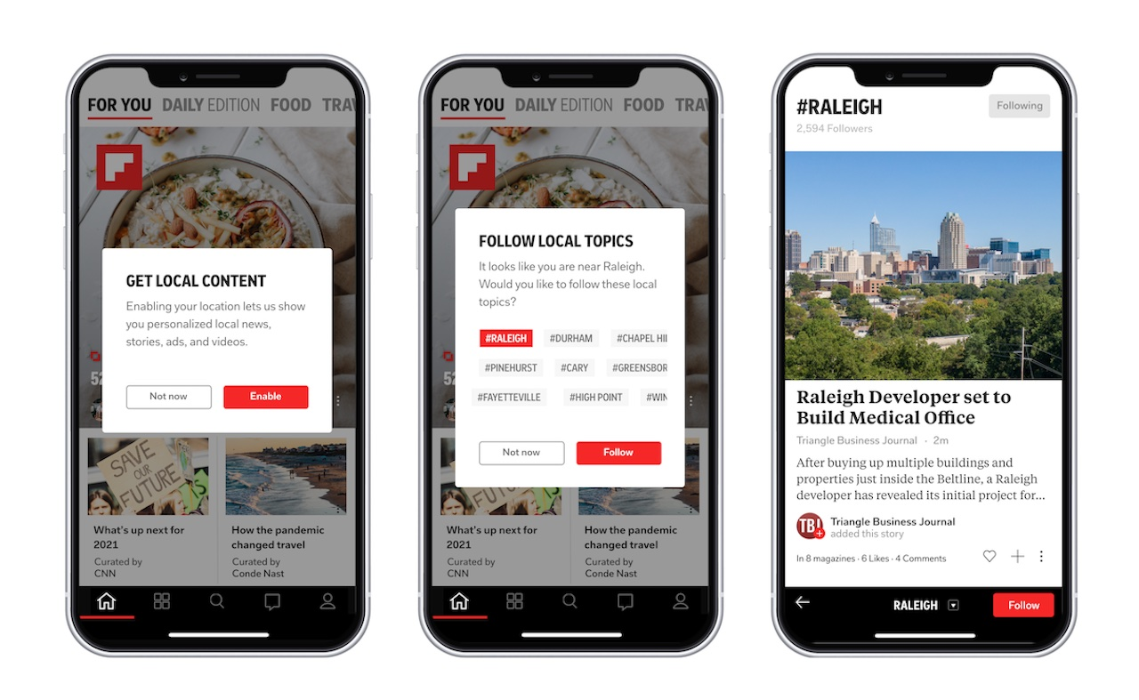 Flipboard brings local news for 1,000 cities in latest update