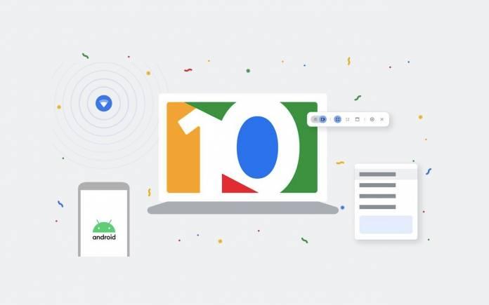 Google Chromebook 10 Years