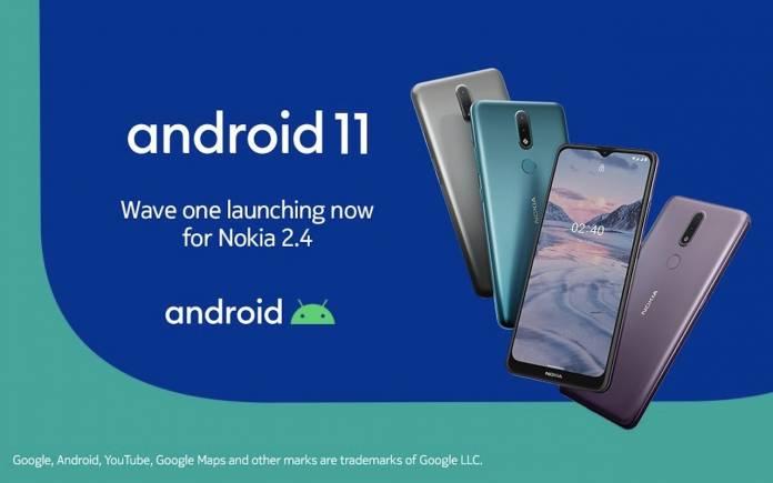 Nokia 2.4 Android 11