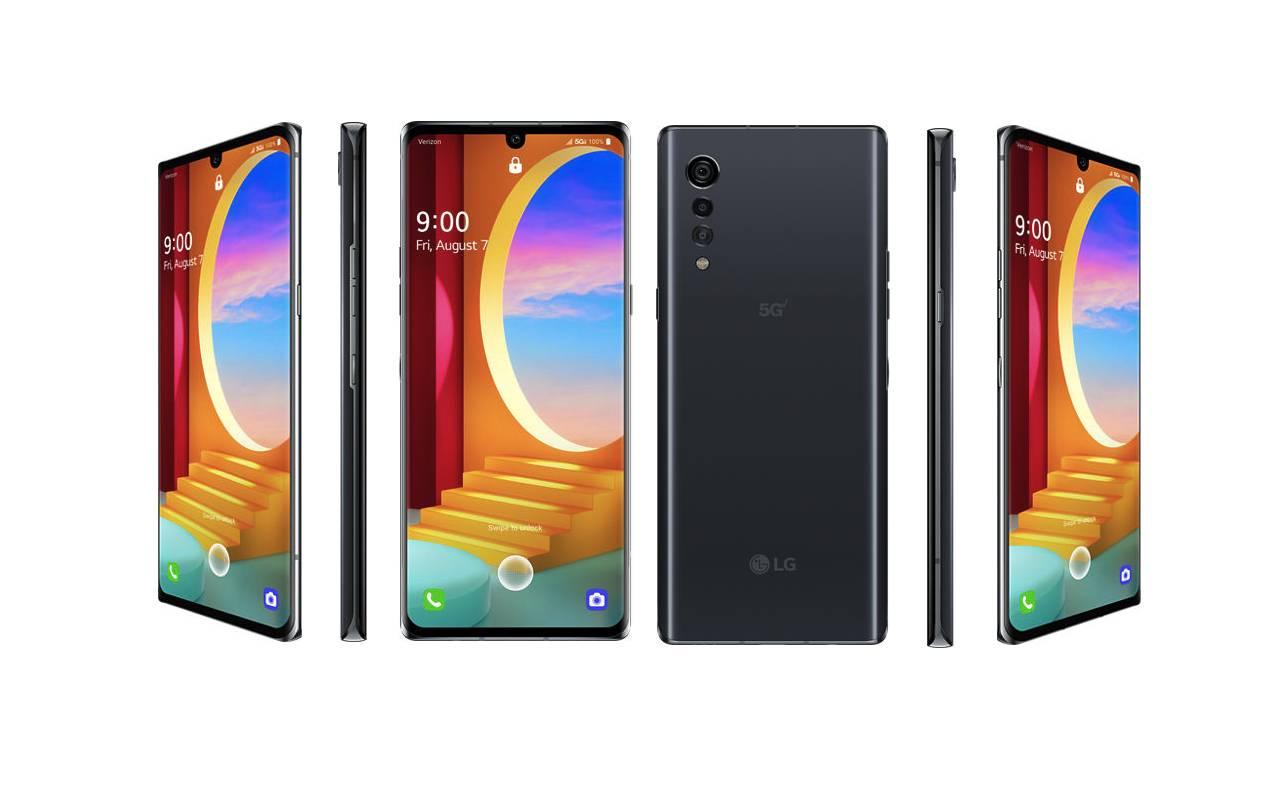 Verizon LG Velvet 5G UW Update