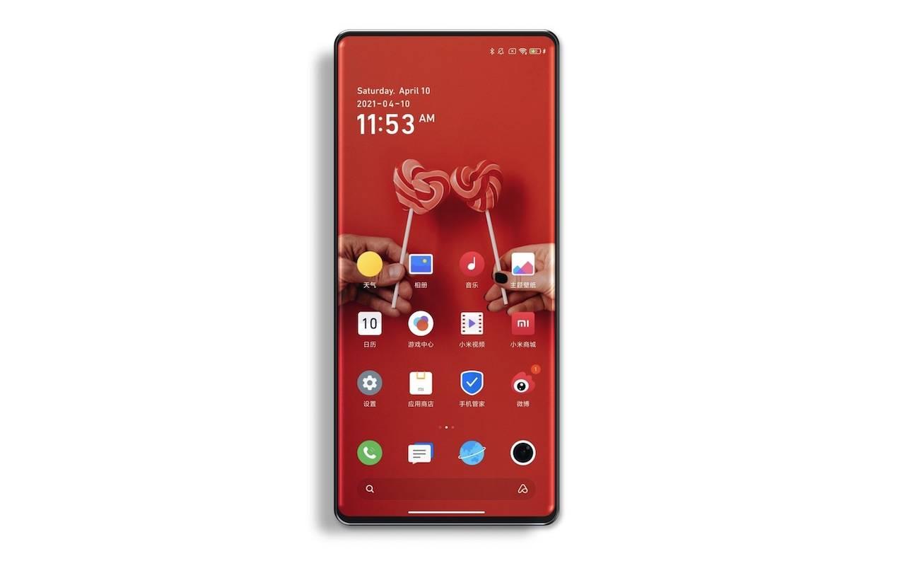 Xiaomi Mi Mix 4 Under Panel Camera UPC