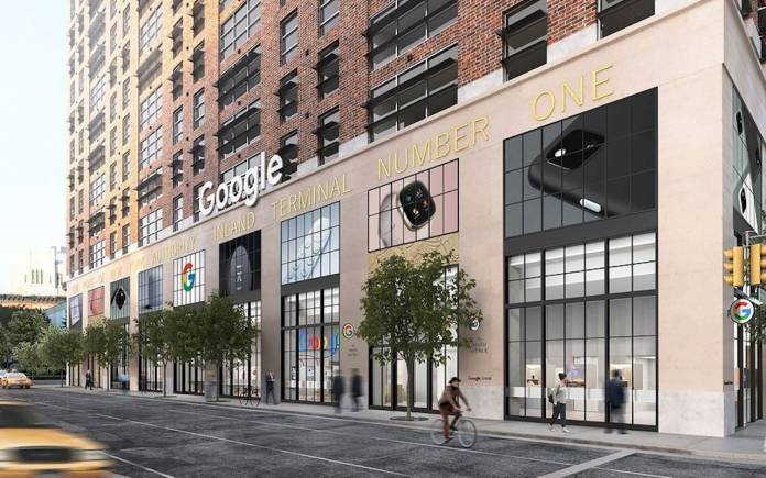 Google Store in NYC