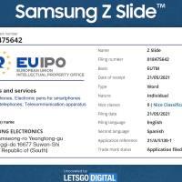 Samsung Galaxy Z Slide Concept EUIPO