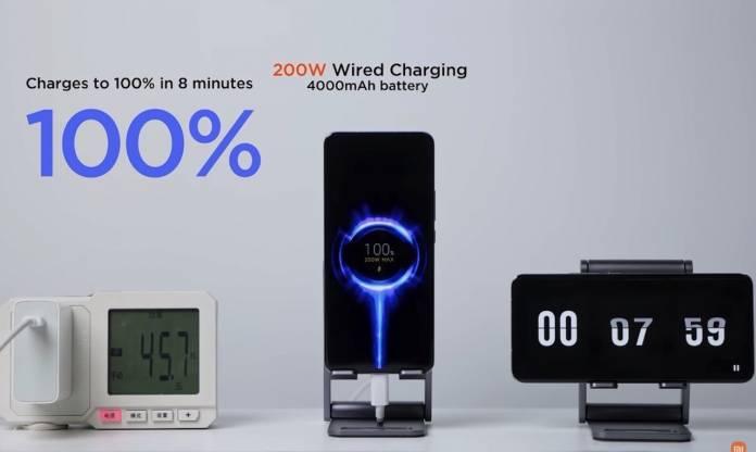 Xiaomi 200W Wired & 120W Wireless Fast Charging