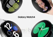Samsung Galaxy Watch4 Renders