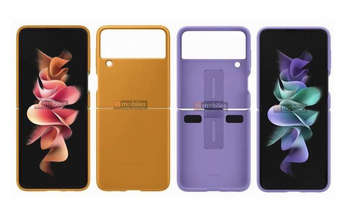 Samsung Galaxy Z Flip 3 Case Renders 1