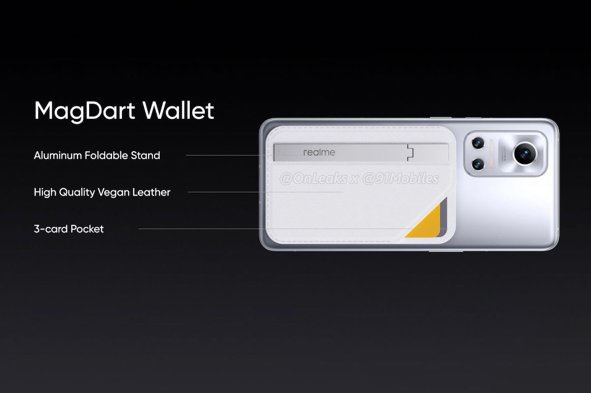 Realme Flash with MagDart Wallet
