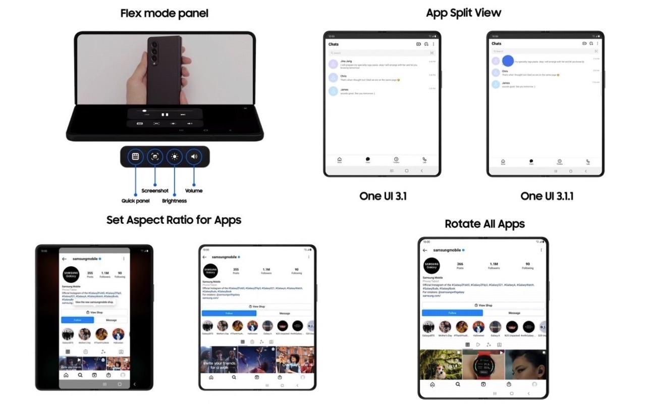 Samsung One UI 3.1.1 Update