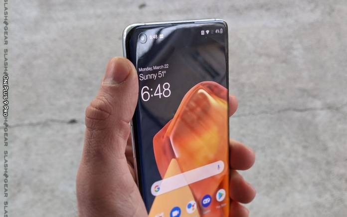 Concept OnePlus 9 RT OxygenOS 12 Android 12