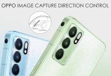 Oppo Reno Phone with multi-directional camera