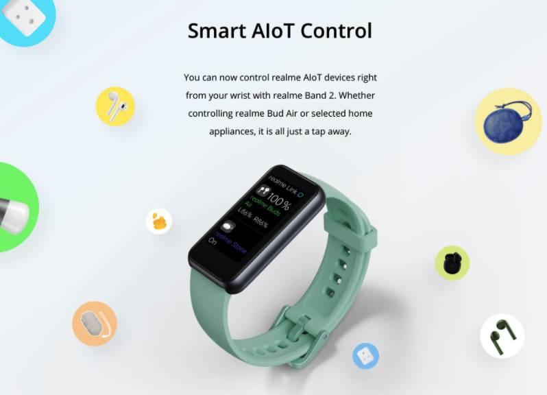 Realme Band 2 Features