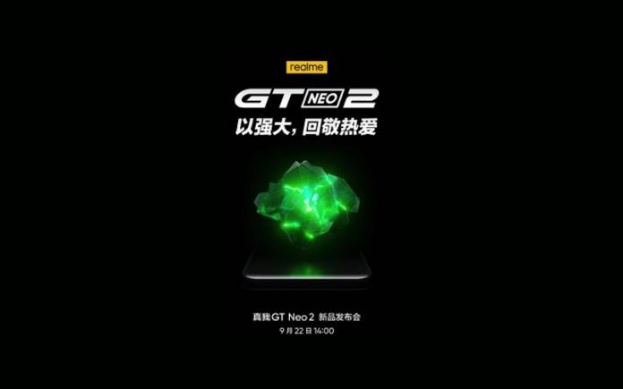 Realme GT Neo 2 Launch China
