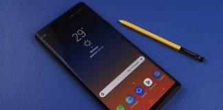 Samsung Galaxy Note 9 Software Update Schedule
