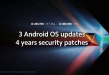Xiaomi 11T Series Android OS Updates