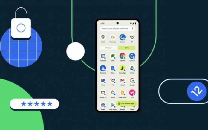 Android 12 Enterprise