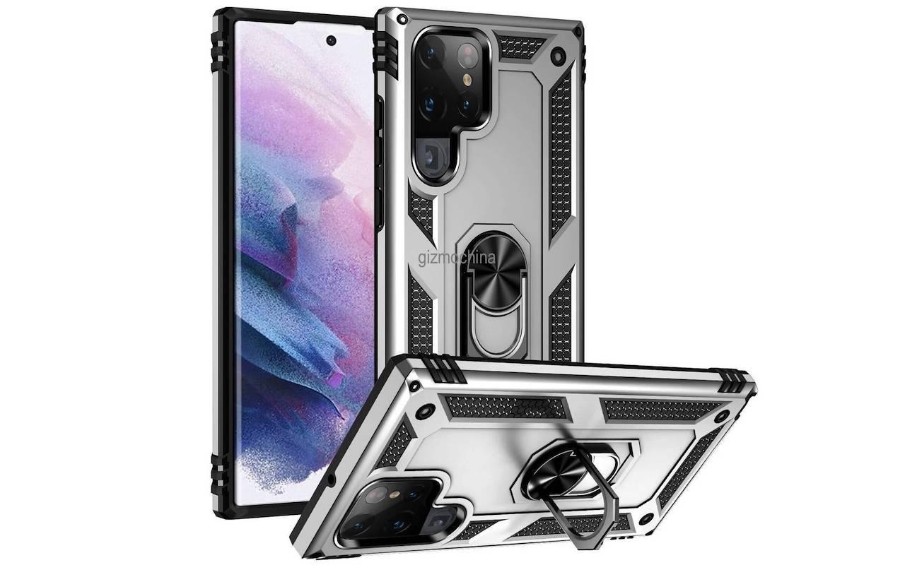 Samsung Galaxy S22 Ultra Case Render 4