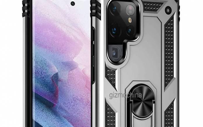 Samsung Galaxy S22 Ultra Case Render 6