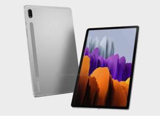 Samsung Galaxy Tab S8 Image Renders